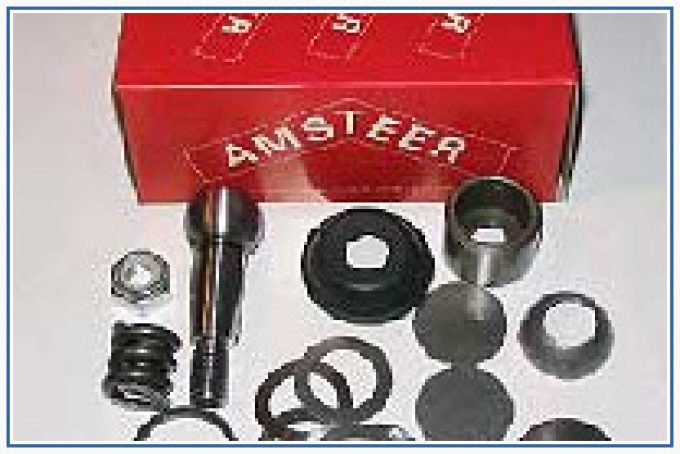 steering and suspension components.