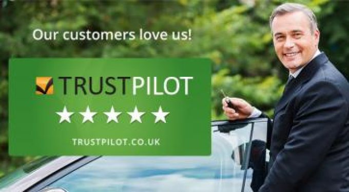 The highest rated new car retailer on TrustPilot with an excellent feedback rating.